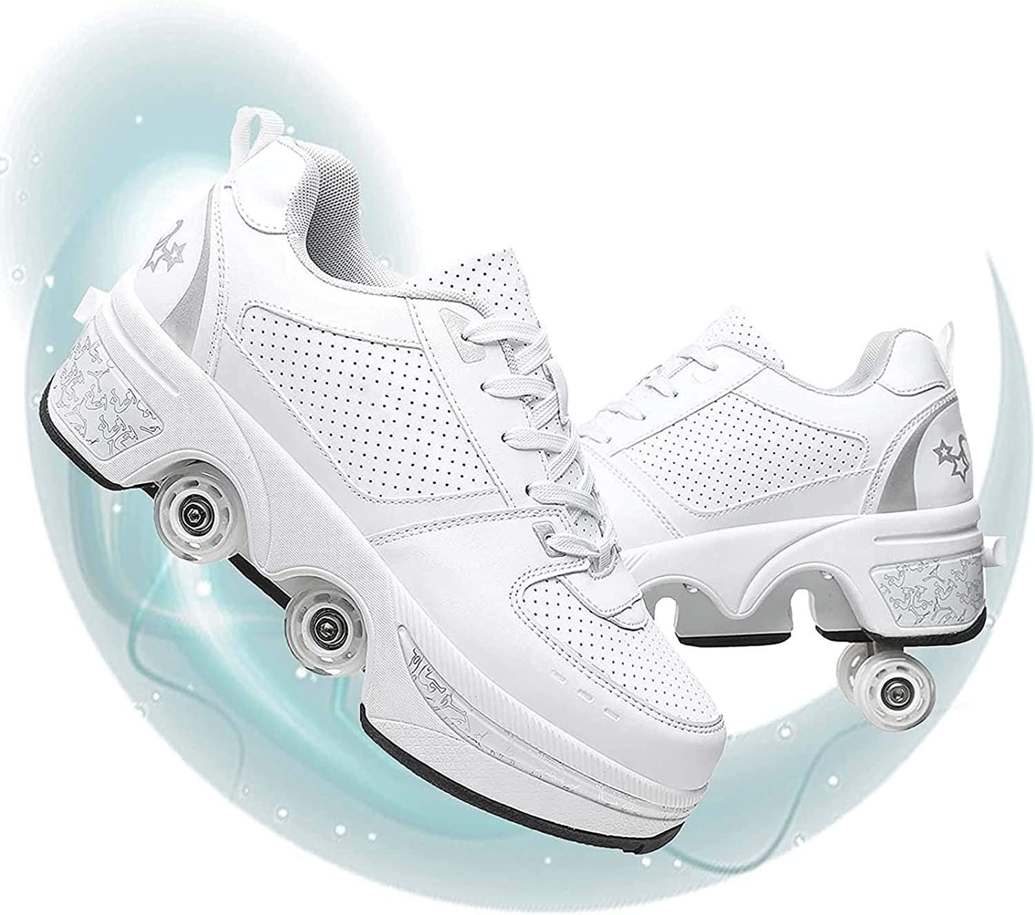 ZHYX Roller Skate Ranking TOP8 Shoes Challenge the lowest price of Japan ☆ Deformation Invisible Fou Parkour