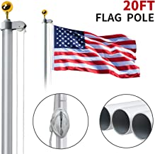 20 ft steel pole