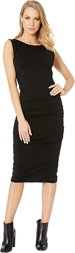 Mia Side Ruched Dress