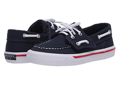 Sperry Kids Bahama Jr. (Toddler/Little Kid) (Navy) Boy