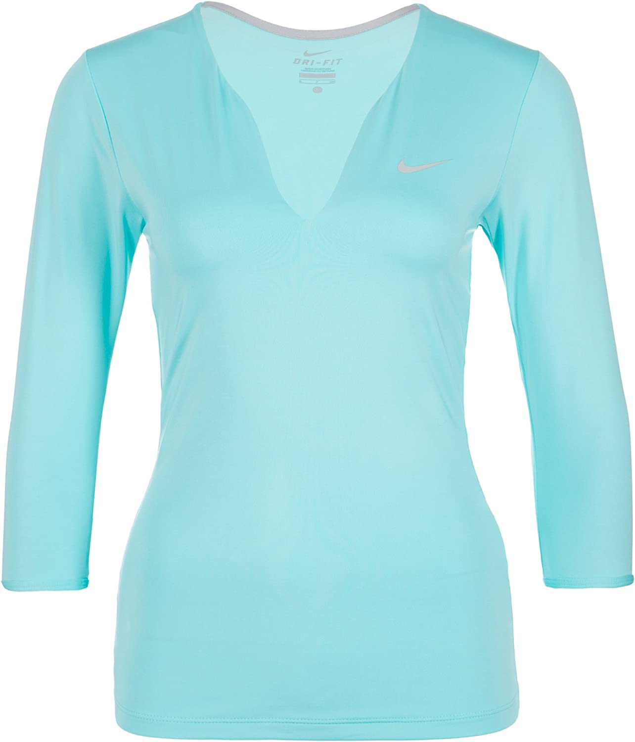 Easy-to-use Nike Pure Dri-FIT Mesa Mall Tennis Top Women's LARGE Copa -