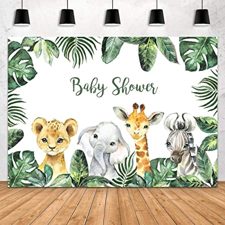 7x7FT Vinyl Wall Photography Backdrop,Deer,Animal Head Silhouettes Background for Baby Birthday Party Wedding Graduation Home Decoration