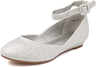 c6c6111c6 Amazon.com: Silver - Flats / Shoes: Clothing, Shoes & Jewelry