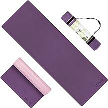 TOPLUS Yoga Mat - Opgewaardeerde dikke yogamat, Eco-vriendelijke antislip oefening & fitness mat met draagriem, trainingsm...