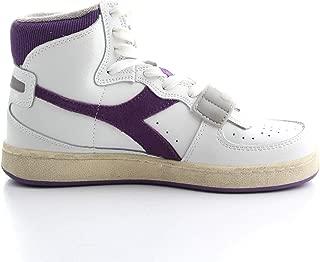 DIADORA Luxury Fashion Womens 501174764 White Hi Top Sneakers   Fall Winter 19