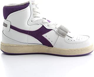 DIADORA Luxury Fashion Womens 501174764 White Hi Top Sneakers | Fall Winter 19
