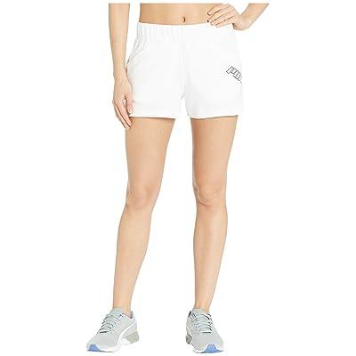 PUMA Yogini 3 Shorts (PUMA White) Women