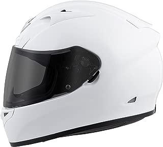 Scorpion EXO-R710 Solid Street Motorcycle Helmet (White, Medium)
