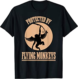Protected Wizard of OZ Wicked Witch Get My Flying Monkeys T-Shirt