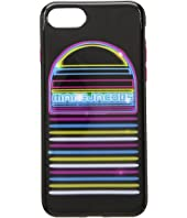 Marc Jacobs - Neon Speaker iPhone 8 Case