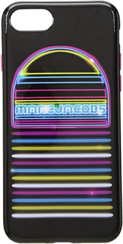 Neon Speaker iPhone 8 Case