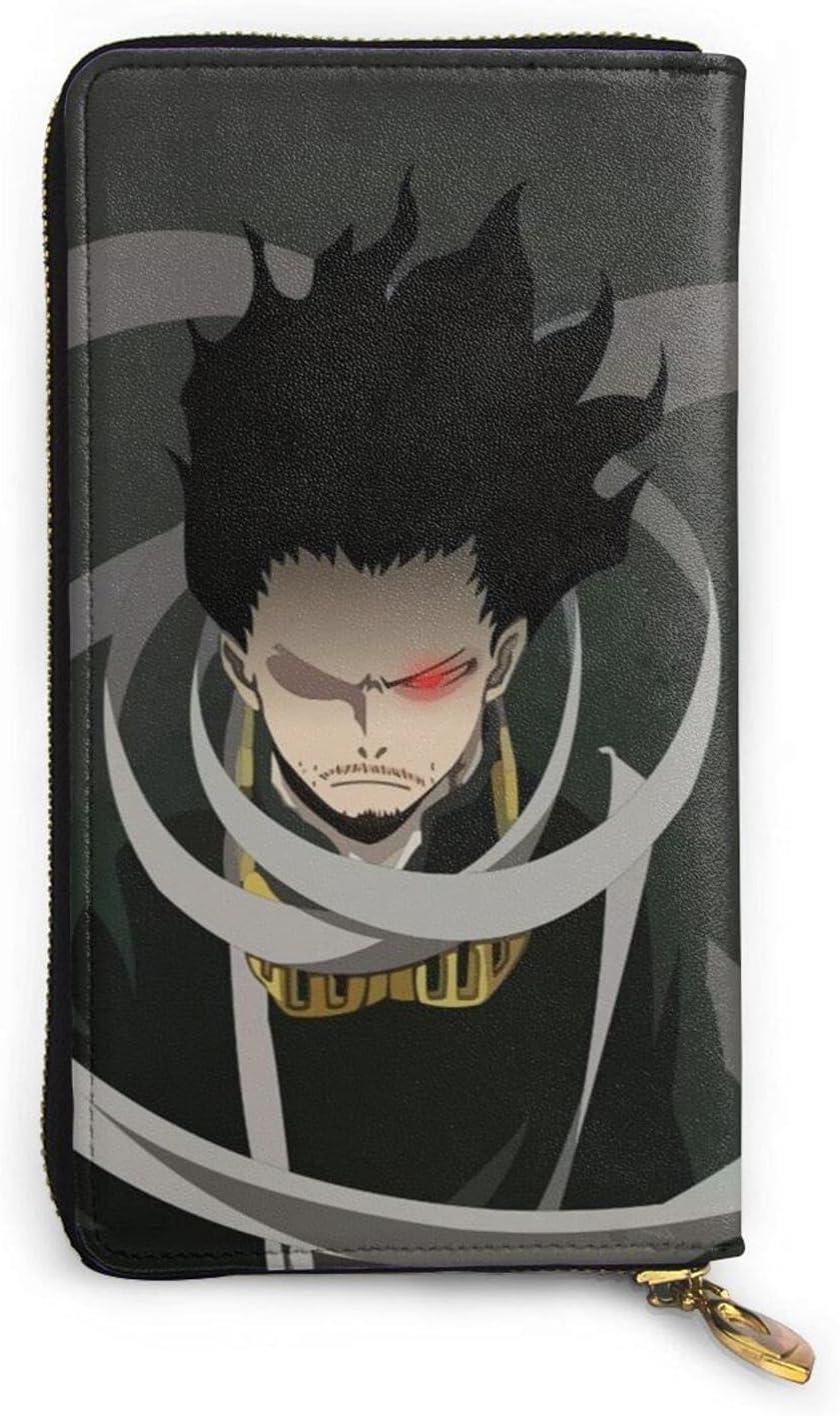 My Hero Academia Shota Aizawa Leather Cartoon Zip Max 79% OFF Anime Overseas parallel import regular item Wallet P