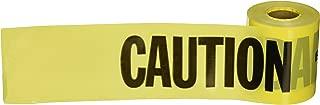 Empire 77-0201 Commercial Grade Barricade Caution Tape, 200' x 3