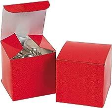 Fun Express Mini Red Gift Boxes (2 Dozen)