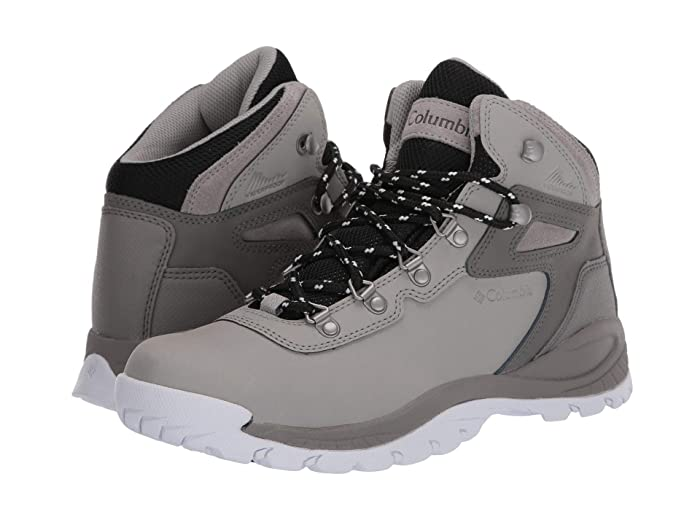 Columbia  Newton Ridge Plus (Dove/White) Womens Hiking Boots