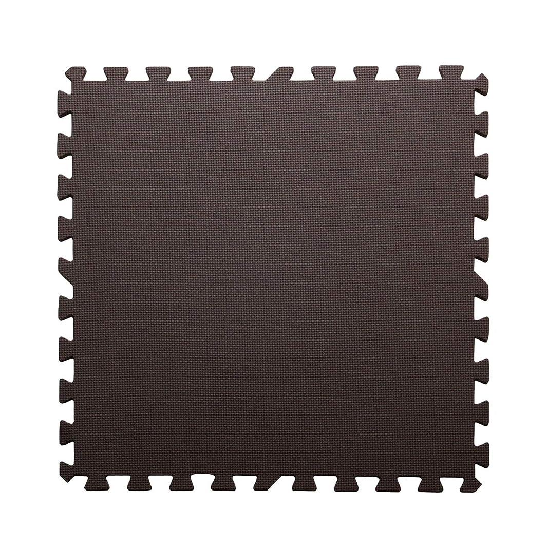 アミューズメントエレクトロニックブロンズノンホルムアルデヒド 大判EVAジョイントマット 32枚組【IT-tm】約60×60×1.0cm ブラウン(#9811002x8)