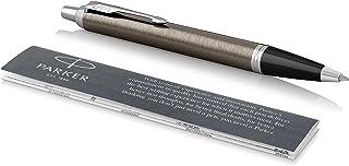 Parker IM Ballpoint Pen, Dark Espresso with Medium Point Black Ink Refill (1975561)
