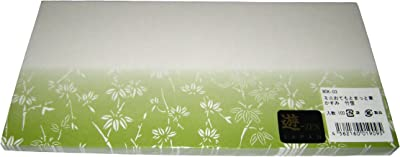 ミニおてもとまっと 華かすみ(100枚入)竹笹 MOK-03
