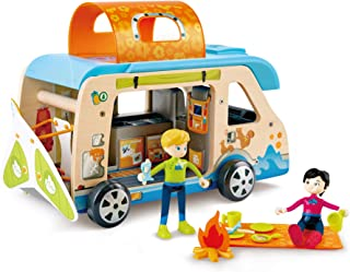 Hape Adventure Van, Pretend Play with Action Figures