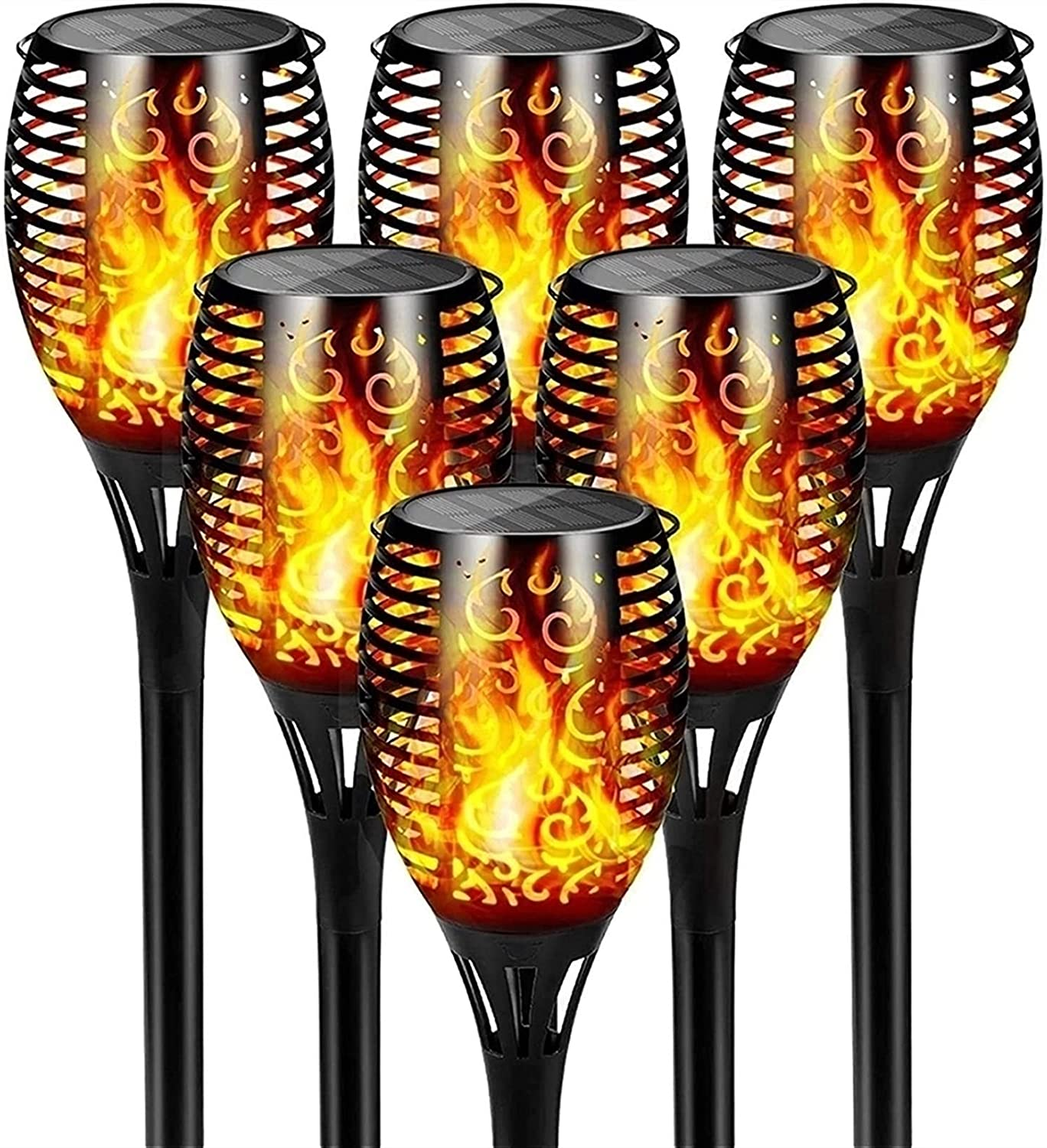 Solar Light Garden online shop Torches 12 Torch Large-scale sale Waterpr with IP65 LED