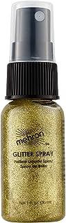 Mehron Makeup Hair and Body GlitterSpray (1 oz) (Gold)