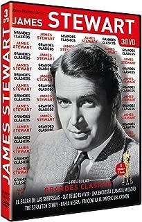 Grandes Clásicos James Stewart: (El bazar de las sorpresas / Qué bello es vivir / Una encuesta llamada milagro / The Stratton Story / Bahía negra / FBI contra el imperio del crimen) (Non USA Format)