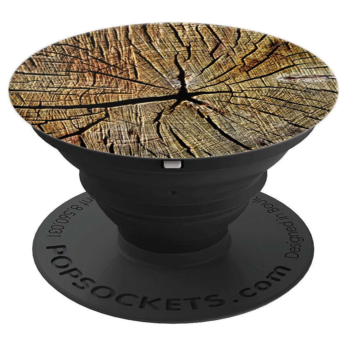 Pop Socket Wood Grain. Wooden Design. Wood Look - PopSockets Grip and Stand for Phones and Tablets