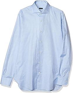 [バルバ] ドレスシャツ ワイドカラーシャツ メンズ
