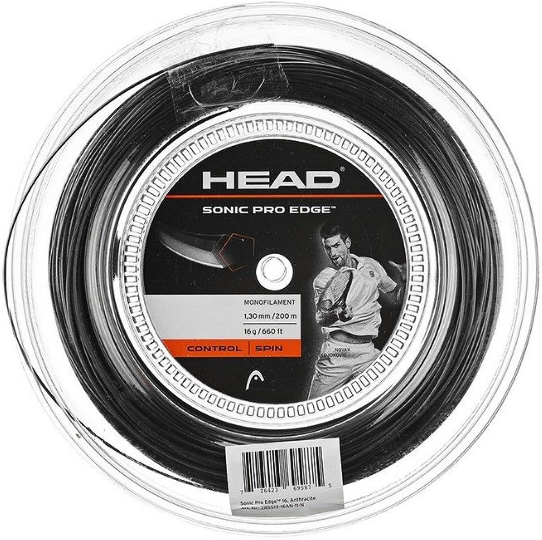 (16, Grey)  Head Sonic Pro Edge Tennis String Reel