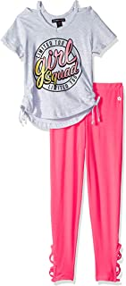 Limited Too Girls' 2 Piece Knit Top and Legging Fashion Set