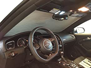 The Original Windshield Sun Shade, Custom-Fit for Audi A5 Quattro Coupe 2008-2017, Silver Series