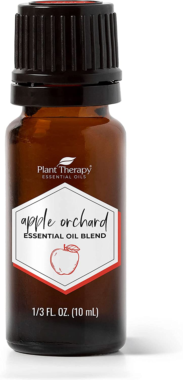 Plant Therapy Apple Orchard Fall Essential Oil Blend 10 mL (1/3 oz) 100% Pure, Undiluted, Therapeutic Grade