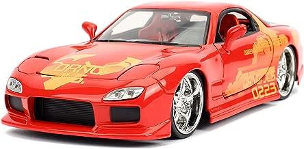Jada Mazda RX-7 Orange Julius Fast & Furious 1/24 Scale Diecast Car Model 30747