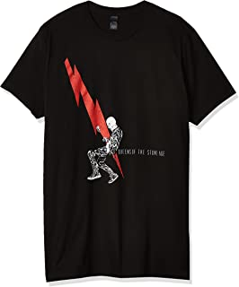 FEA Men's Queens Of The Stone Age Man With Lightning Bolt T-Shirt T-Shirt