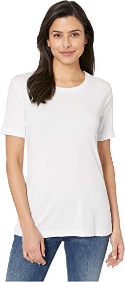 EZ Fit Short Sleeve Cotton Modal Crew Neck Tee