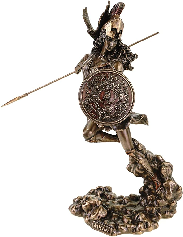 Veronese - statuetta di atene, in sospensione