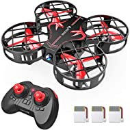 SNAPTAIN H823H Plus Portable Mini Drone for Kids, RC Pocket Quadcopter with Altitude Hold,...