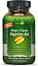 Irwin Naturals Ginger & Papaya Digestive-Aid Powerful Plant-Based Enzymes, Herbs & Botanicals - Helps Reduce Discomfort, G...