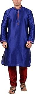 maharaja Mens Raw Silk Festive Kurta Pyjama Set[4 Varients]