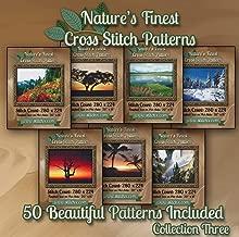 Nature's Finest Cross Stitch Patterns - Collection Three - 50 Beautiful Landscape/Scenery Cross Stitch Designs on CD …
