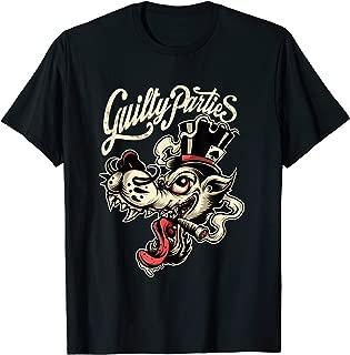 Rockabilly Greaser Wolf Man T-Shirt