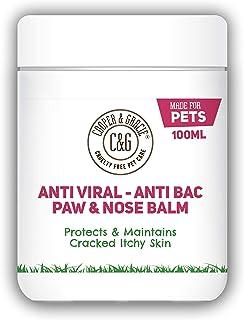 C&G Dog Paw Nose Balm - Bálsamo para la nariz y para las patas agrietadas y que pican de perros, no testado en animales100ML