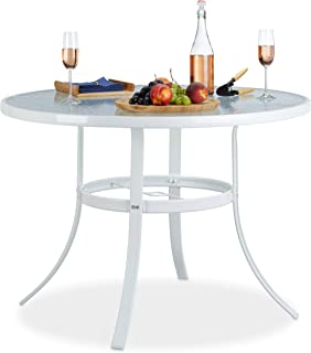 Amazon.fr : Table Ronde Verre : Jardin