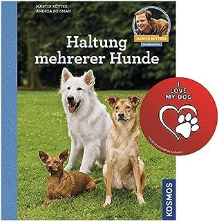 KOSMOS hållning för flera hundar: Martin Rütters hundskola fickbok + hundklistermärke från colletix