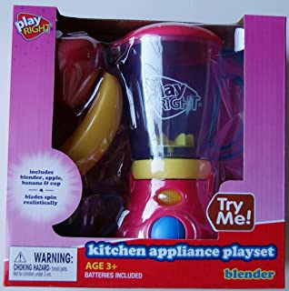 PlayRight Kitchen Appliance Blender & Food Playset by Play Right