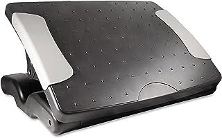 Kantek Professional Adjustable Footrest, 4 to 7 Inch Height, Black (FR600)
