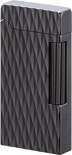 Sarome Flint Cigarette Cigar Lighter SD6A-10 Gun metal/Lozenged diamond cut