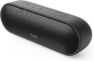 Tragbarer Bluetooth Lautsprecher Tribit MaxSound Plus, 24W Wireless Musikbox mit Leistungsstarkem Lauterem Sound XBass IPX7 Wasserdicht, 20 Stunden Spielzeit, 100ft Bluetooth Reichweite