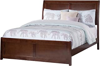 Atlantic Furniture AR8936034 Portland Traditional Bed with Matching Foot Board, Full, Walnut