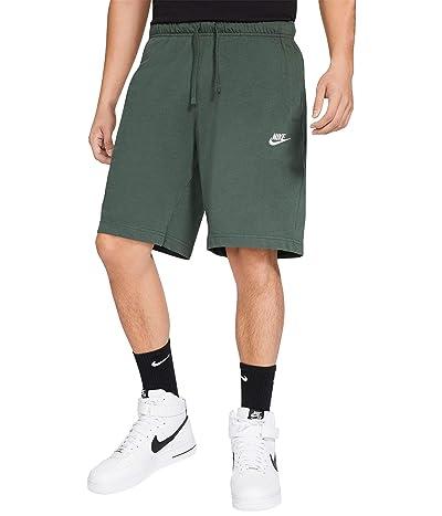 Nike NSW Club Shorts Jersey (Galactic Jade/White) Men